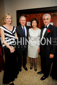 Kyle Samperton,September 16,2009,The Ambassadors Ball,Kareen Kakouris,Sen.Mitch McConnell,Hon,Elaine Chao,Amb.Andreas kakouris