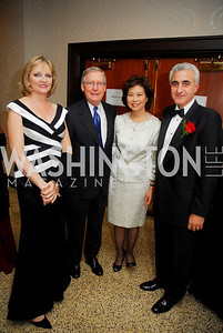 Kyle Samperton,September 16,2009,The Ambassadors Ball,Kareen Kakouris,Sen Mitch McConnell,Hon.Elaine Chao,Amb.Andreas Kakouris