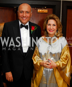Kyle Samperton,September 16,2009,The Ambassadors Ball,Amb.Sameh Shoukry, Suzy Shourky