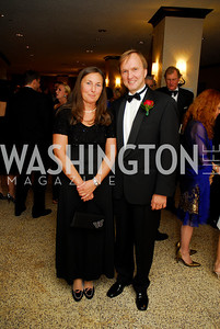 Kyle Samperton,September 16,2009.THe Ambassadors Ball.Elena Pildegovics,Amb.Andrejs Pildegovics