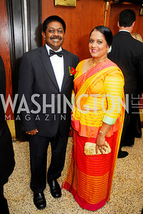 Kyle Samperton,September 16,2009,The Ambassadors Ball,Amb.Jaliya Wickramasuriya,Priyanaga Wickramasuriya