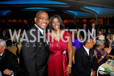 Kyle Samperton,September 16,2009 The Ambassadors Ball,Rep.Gregory Meeks,Simone-Marie Meeks