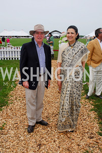 Dennis Richardson, Meera Shanker (Photo by Tony Powell)
