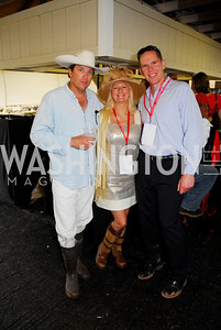 John Gobin, Debbie Nash, Rick Cutrera (Photo by Tony Powell)