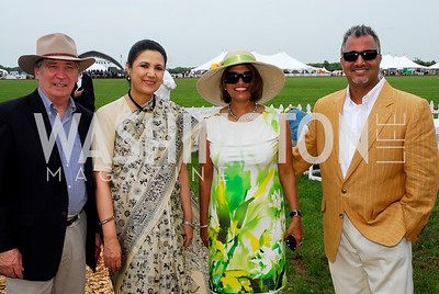 Amb. Dennis Richardson, Amb. Meera Shanker, Seema Sharma, Rajeev Harma  (Photo by Tony Powell)