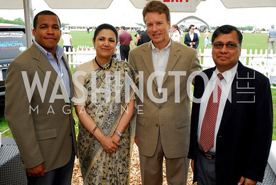 Alex Acey, Meera Shanker, Chris Marchand, Ajay Shankar  (Photo by Tony Powell)