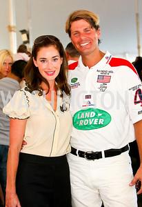 Diane Lott, Chet Lott. The Land Rover America's Polo Cup Fall Classic. September 19, 2009. photos by Tony Powell