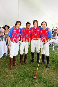 Ashok Batia, Paras Sharma, Marcos Bignoli, Sunny Khan. The Land Rover America's Polo Cup Fall Classic. September 19, 2009. photos by Tony Powell