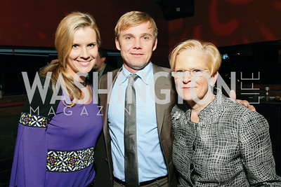 Andrea Schroder, Rick Schroder, Jo Cooper. Artists Making An Impact Party. FUR Nightclub. Photo by Tony Powell