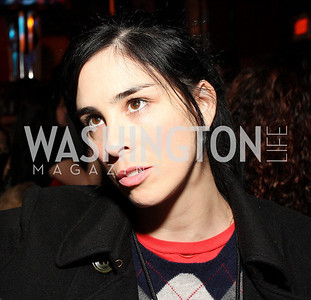 Sarah Silverman. Artists Making An Impact Party. FUR Nightclub. Photo by Tony Powell