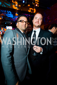 Michael Romeo, Reese Gardner. Artists Making An Impact Party. FUR Nightclub. Photo by Tony Powell