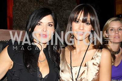 Lauren Whiteshell, Jessica Alba. Artists Making An Impact Party. FUR Nightclub. Photo by Tony Powell