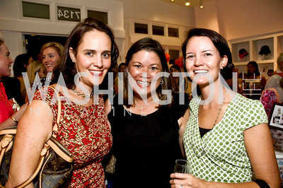 Allyson Hauck, Cheryl Koskinen, Liz Brown. Babylove, Sassanova. September 16, 2009. Photos by Betsy Spruill Clarke.