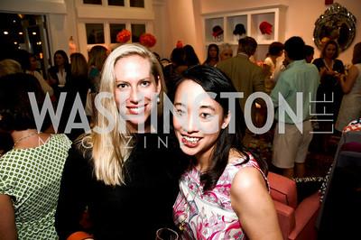 Jennifer Gerson, Tracy Thomm. Babylove, Sassanova. September 16, 2009. Photos by Betsy Spruill Clarke.