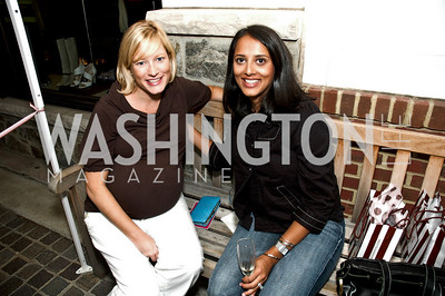 Jennifer Tapper, Gana Bhandari. Babylove, Sassanova. September 16, 2009. Photos by Betsy Spruill Clarke.
