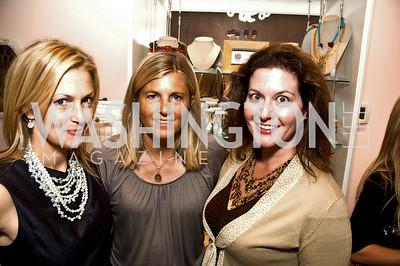 Ali Wentworth, Sissy Yates, Kate Chartener. Babylove, Sassanova. September 16, 2009. Photos by Betsy Spruill Clarke.