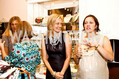 Ali Wentworth, Sarah Cannova. Babylove, Sassanova. September 16, 2009. Photos by Betsy Spruill Clarke.