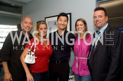 Jimmy Lynn, Victoria Michael, Sarah Rosenwinkel, Chris Thompson, Photograph by Betsy Spuril Clarke