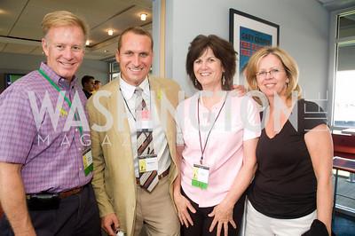 Gregory Warfield, Matt Davis, Francine Balinskas, Patricia Johnson, Photograph by Betsy Spuril Clarke