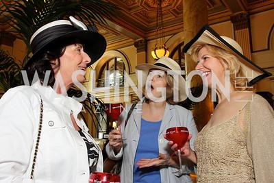 Cynthia Jachles, Rosemary Shields, Nancy Davies (Photo by Tony Powell)