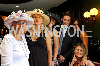 Barbara French, Debbie Nash, Rebecca Precious, Jason Sickels, Amy Savell, Lili Alexander (Photo by Tony Powell)