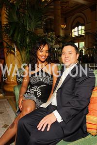 Inga Savage, John Yang (Photo by Tony Powell)