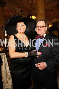 Ann Schwartz, Gregory Schwartz (Photo by Tony Powell)
