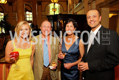 Rachel DePompa,  Csaba Magassy,  Karen Becker,  Vini Mehan (Photo by Tony Powell)