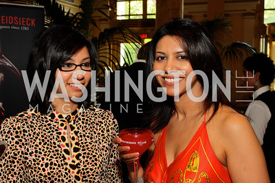 Divya Devaraj, Deepa Devaraj (Photo by Tony Powell)