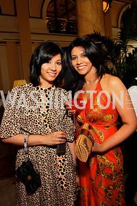Divya Devaraj, Deepa Devaraj (Photo by Tony Powell)