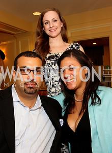 Jacques Walker, Emily Morales, Kelli Barron, (Photo by Tony Powell)