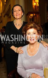 Anna M. Via, Nancy Dunton (Photo by Tony Powell)