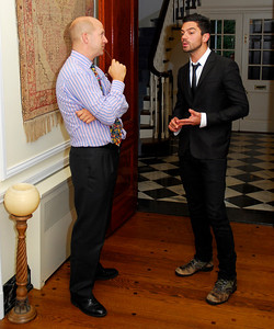 Kyle Samperton,September 21,2009,Phedre Reception,Dominick Chilcott,Dominic Cooper