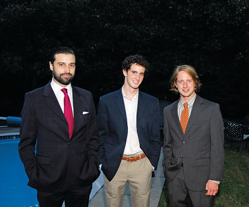Kyle Samperton,September 21,2009,Phedre Reception,Renaud de Viel Castel Drew Chafetz,Ashtan Moore