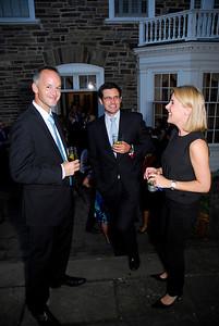 Kyle Samperton,September 21,2009 Phedre Reception, Mark Williams,Edmund Rhys-Jones,Zoe Conway