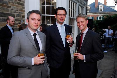 Kyle Samperton,september 21,2009,Phedre Reception,Michael Howells,Edmund Rhy-Jones,Brian McGuigan