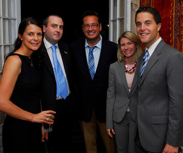 Kyle Samperton,September 21,2009,Phedre Reception,Courtney O'Donnell,Nic Hailey,Mark Adelman Dana Manatos,Tom Manatos,