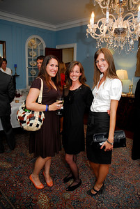 Kyle Samperton,September 21,2009,Phedre Reception,Emmy Schneider,Rebecca Lindrew,Megan Jackson