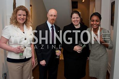 Melanie Minzes, Douglass Rathburn, Jo Crawford Hodges, Cynthia Carson (Photo by Luke Christopher)
