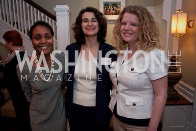 Cynthia Carson, Christine Santos, Melanie Minzez (Photo by Luke Christopher)