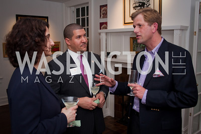 Christine Santos , Dale Mott, Greg Nelson (Photo by Luke Christopher)