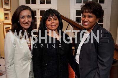 Noha Hussein,  Marcia Dyson, Terri Easte (Photo by Luke Christopher)
