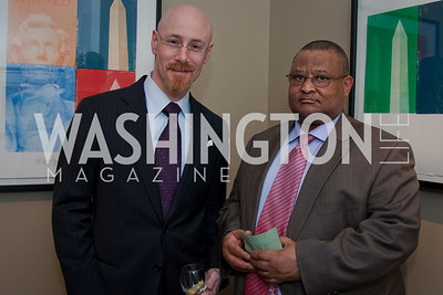 Douglass Rathburn, Welile C. Nhalpo (Photo by Luke Christopher)