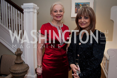 Carole Margaret Randolph, Annie Totah (Photo by Luke Christopher)