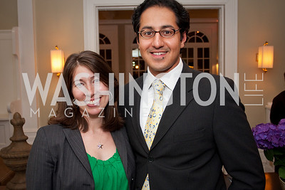 Monica Jalil, Adnan Jalil (Photo by Luke Christopher)