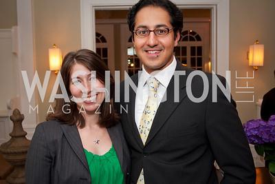 Monica Jalil, Adnan Jalil (Photo by Luke Christopher)