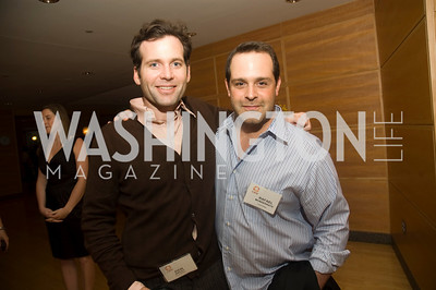 Rafael Monserrate, Eion Bailey (Photo by Betsy Spruill Clarke)