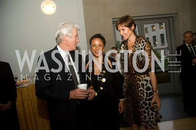 Richard Gere, Sheila Johnson, Carey Lowell (Photo by Betsy Spruill Clarke)