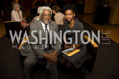 Raymond A. Joseph, GiGi Ndiaye (Photo by Betsy Spruill Clarke)