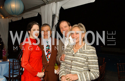 Heather Podesta, Tony Podesta, Congressman Tom Udall, Jill Udall  Jane and Calvin Cafritz open their northwest Washington, DC home for their annual catching-up-with-friends party on Friday, September 11, 2009.  The party is designed to share summertime stories and reconnect with friends less seen since June.  (James R. Brantley)